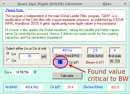 QER_Calculator